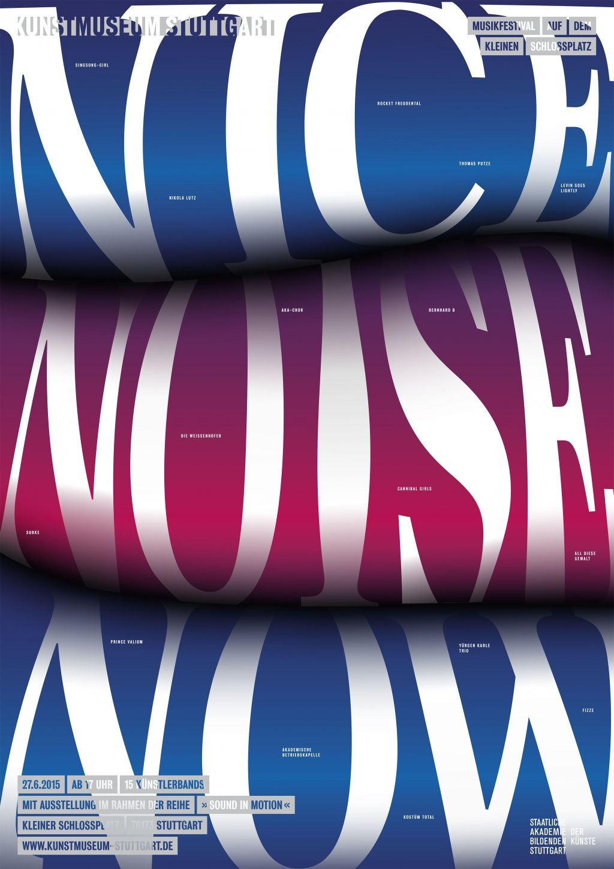 Poster design on mac - Womenofgraphicdesign Kahyan Mac Stuttgart Germany Nice Noise Now Poster