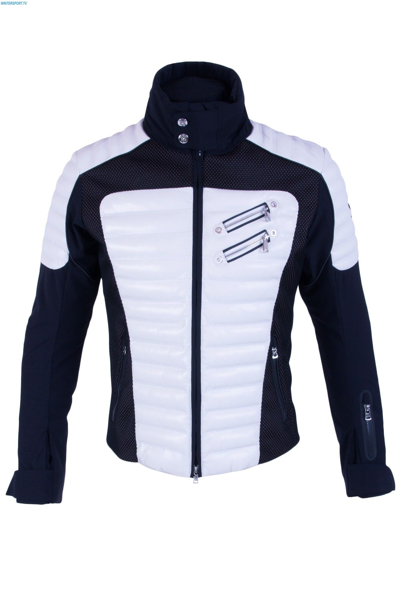 2019 Sergio Jacket Men Ski Style White Man In Black Bogner zqt5UU