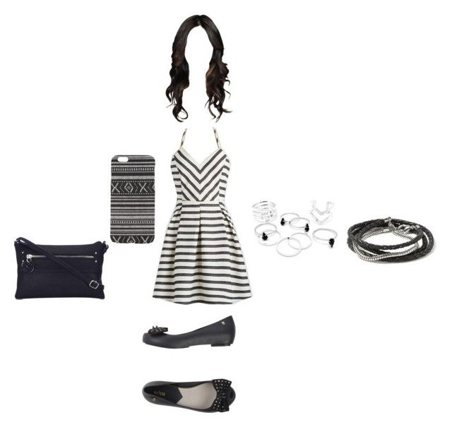 """Clothes aniversário 11/03 2"" by stilys on Polyvore featuring moda, With Love From CA, Wallis, Banana Republic e Melissa"