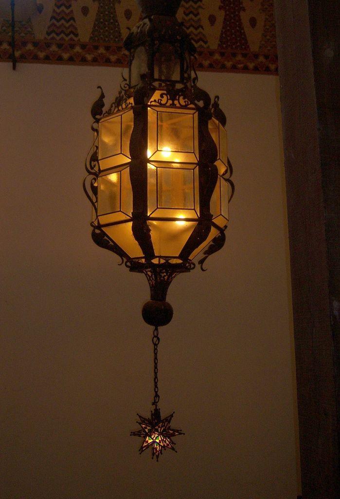 Santa Barbara Court House - Interior Lamp