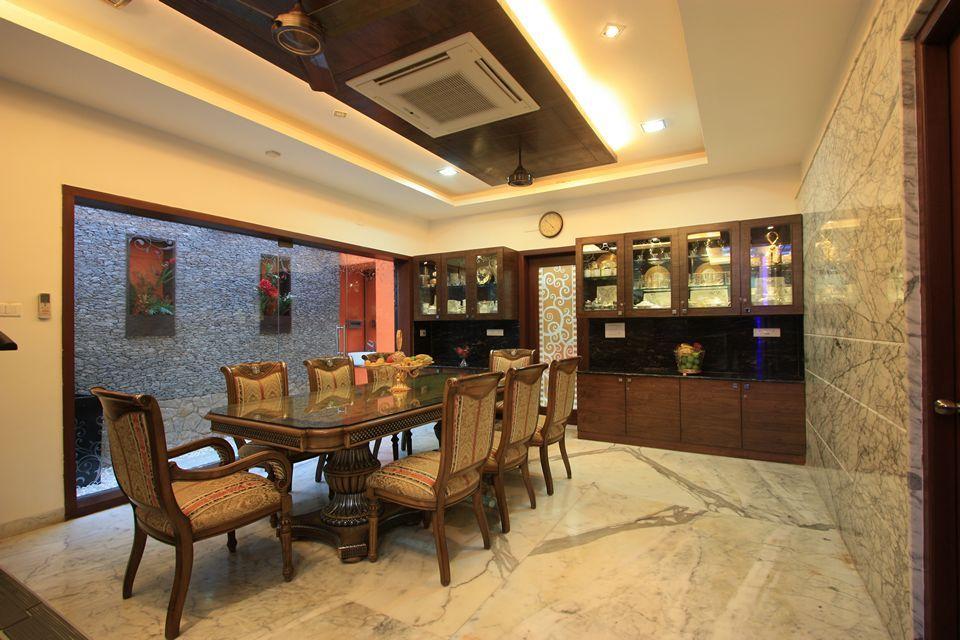 Pin on The Corner House, Palawakkam, Ecr, Chennai on Dining Table Ceiling Design  id=82169