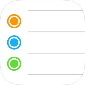 Reminders by Apple (With images) Reminder, Book icons