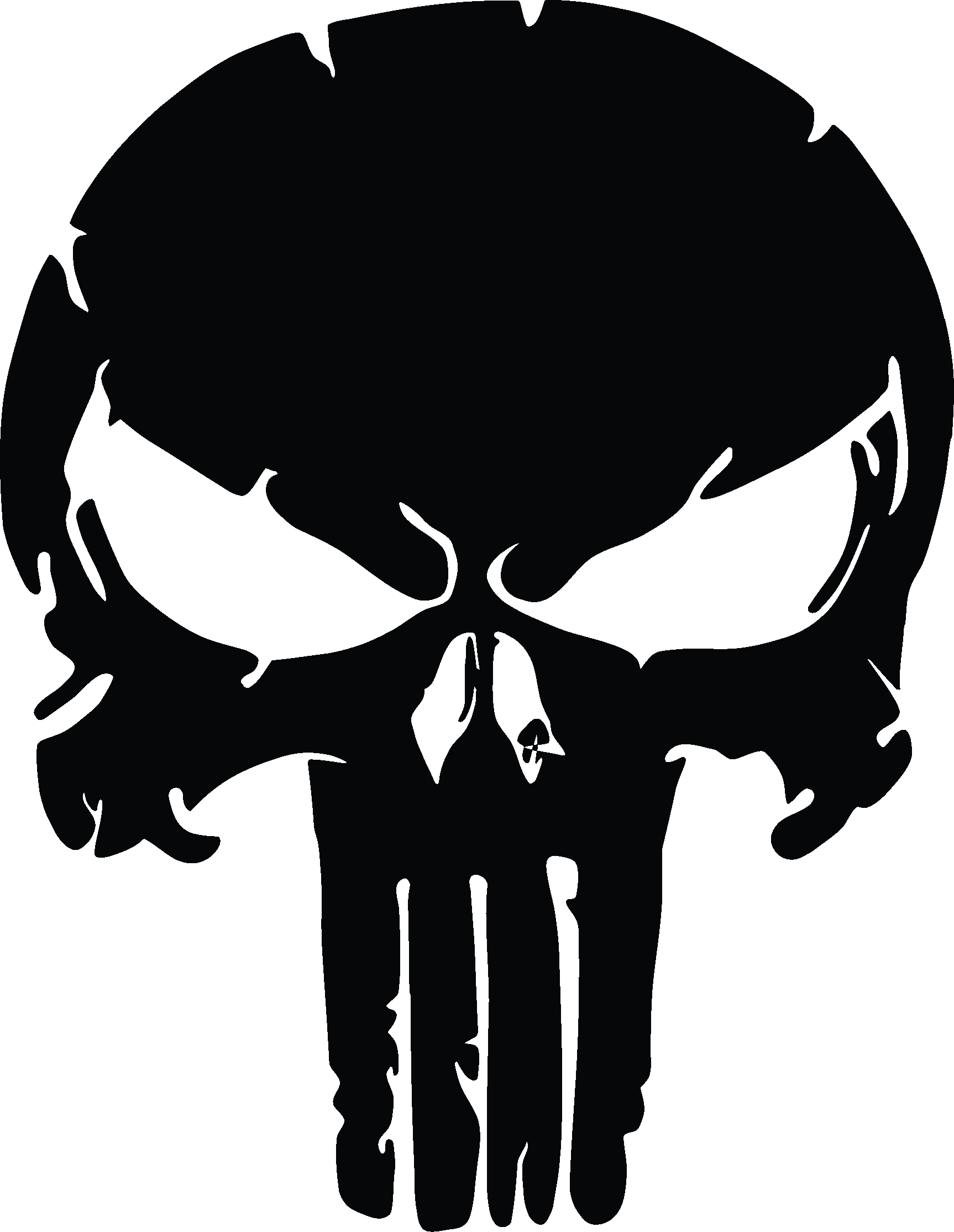 Similar To The Punisher Skull Distressed 3 Quot H Products