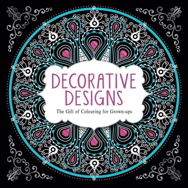 Decorative Designs The Gift Of Colouring For Grown Ups