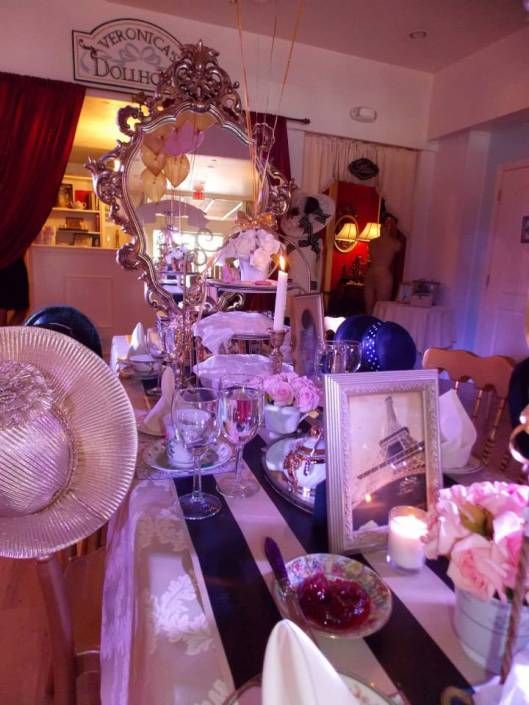 Vintage Paris Bridal Shower