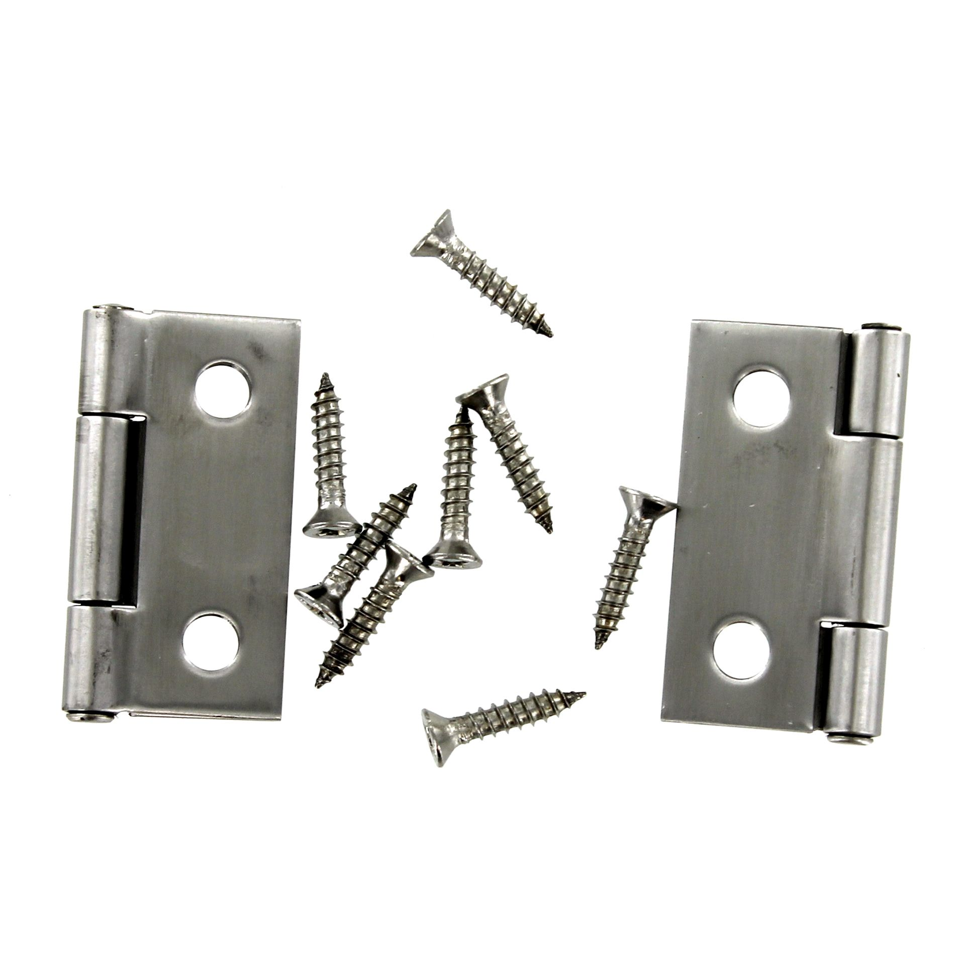 Stanley S851 139 1 1 2 Stainless Steel Silver Pin Hinge 2 ct