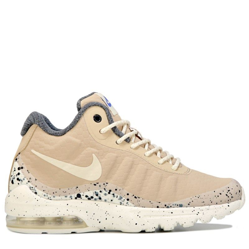 newest collection ad268 42ba7 Nike Women s Air Max Invigor Mid Sneaker Boots (Mushroom Sail)