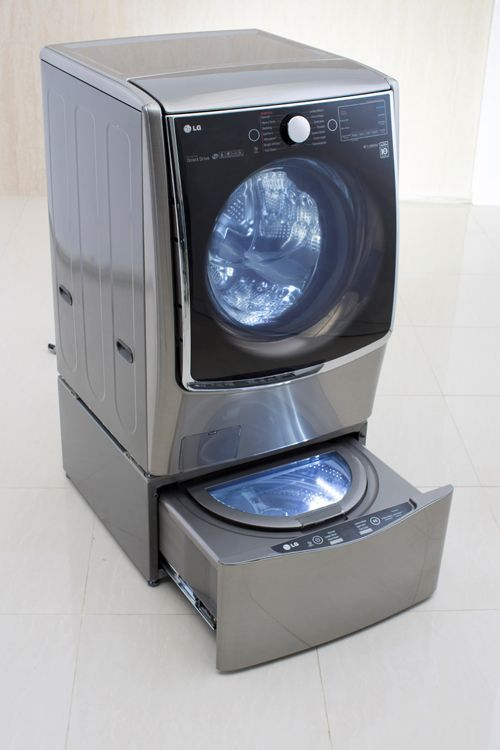 This Tiny Washing Machine Lets You Clean Two Loads At Once Home