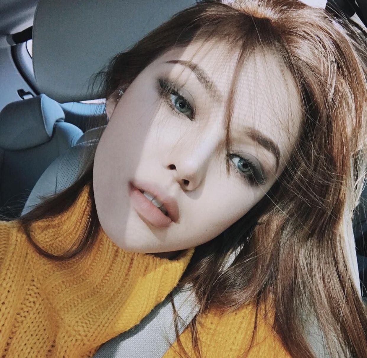 @emilybrodiee | || hair + makeup || | Korean makeup look ...