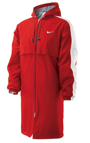 82616aac2 Nike Swim Team Parka T9SS0098 640 Red Adult Size X Large | Kenzie ...
