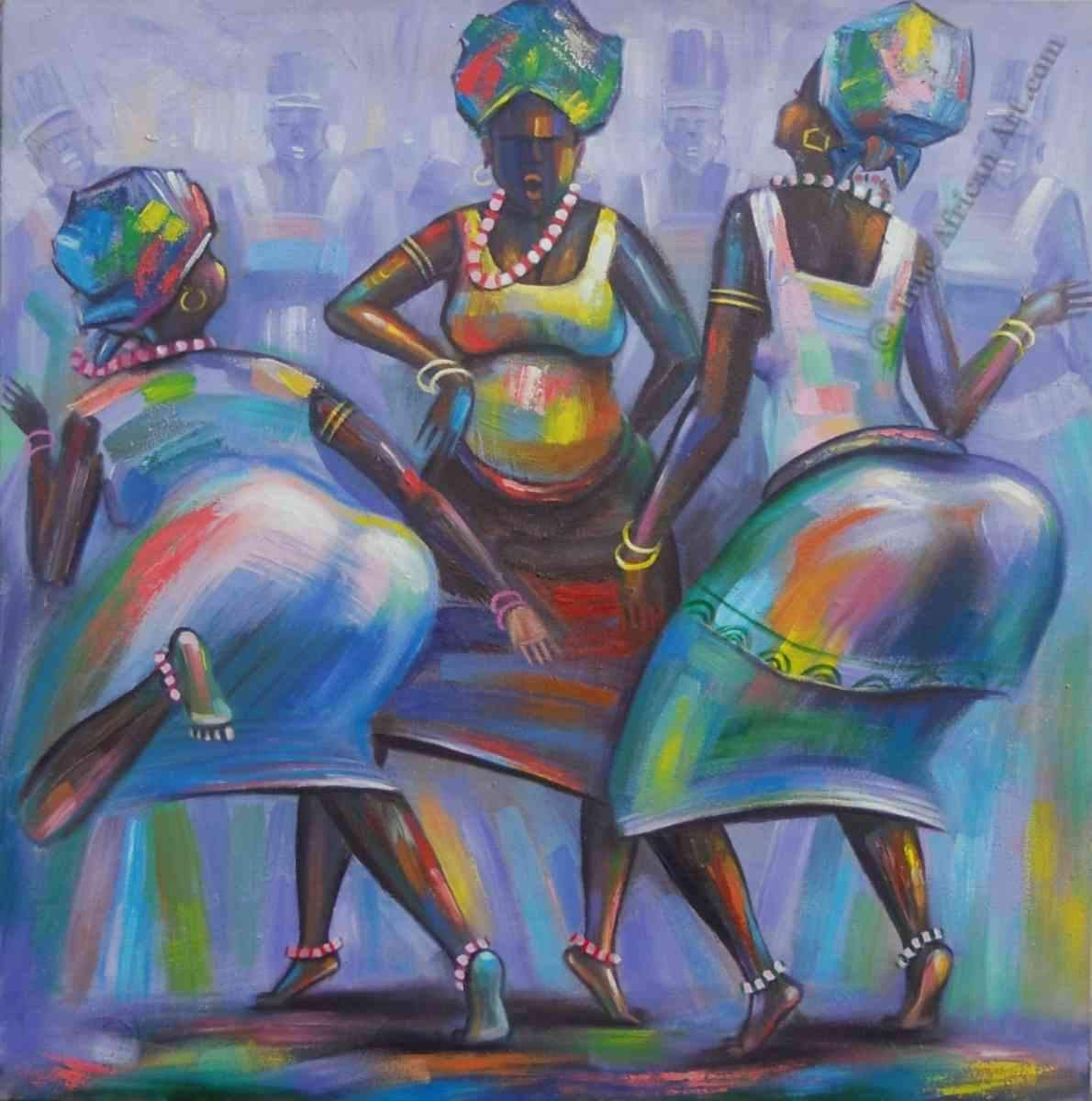 Amakai's Ghanaian Contemporary African Artwork True