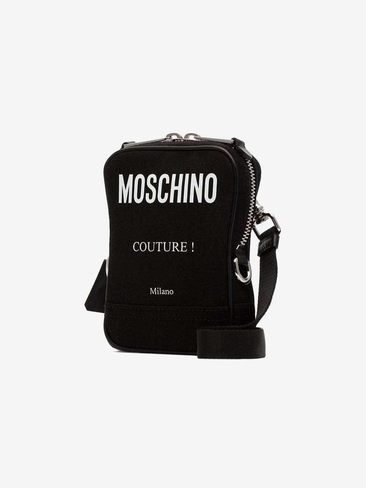 ecbf597d3c Auth New Moschino Couture Milano Logo Crossbody Bag Sold Out Unisex ...