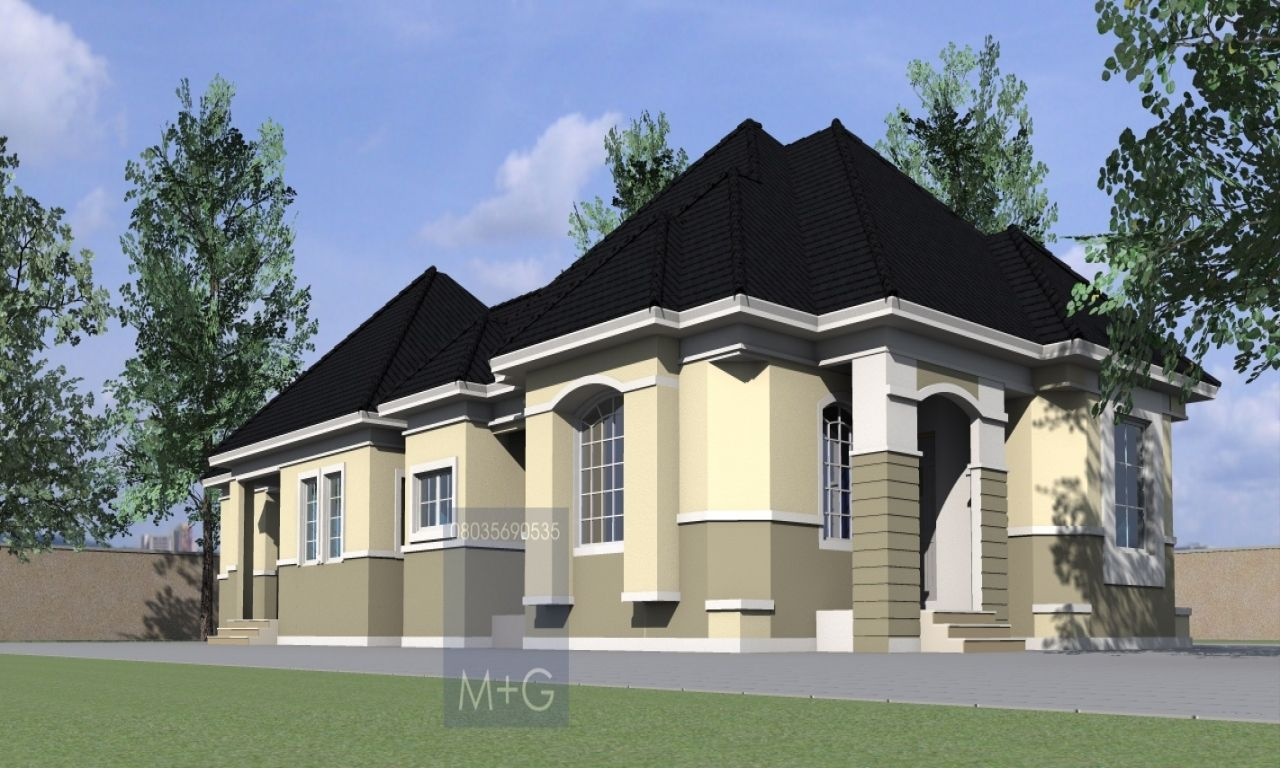 4 Bedroom Bungalow Design Alluring Pinjohn On Projects To Try  Pinterest  Bungalow Bedrooms Inspiration Design