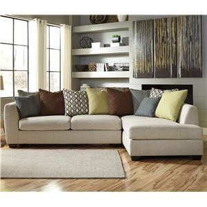 Benchcraft Casheral 2 Piece Sectional With Right Chaise   Item Number:  8290166+17