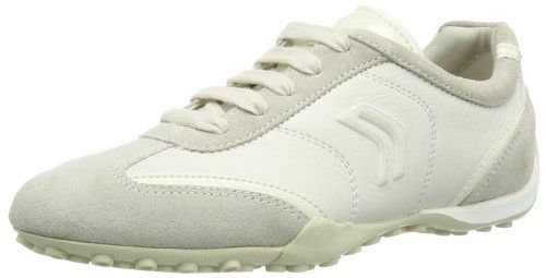 Geox Womens D Snake 70 Fashion Sneaker Off White 38 EU8 M US