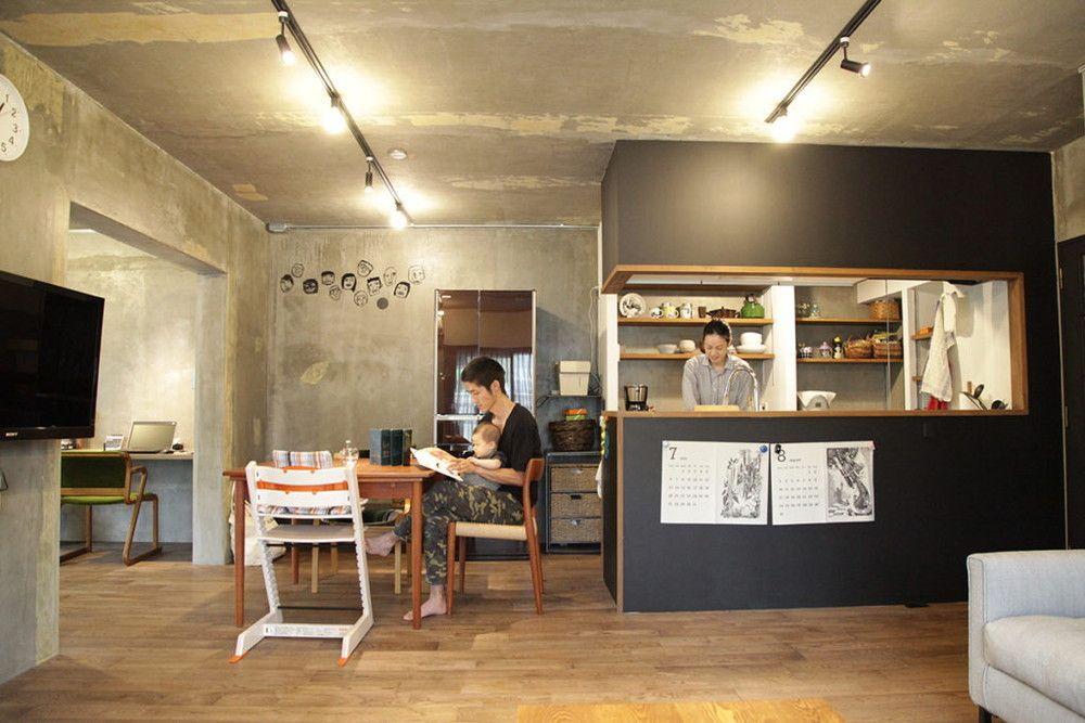 リノベーションのお部屋づくりで注目されている塗装仕上げの壁や天井