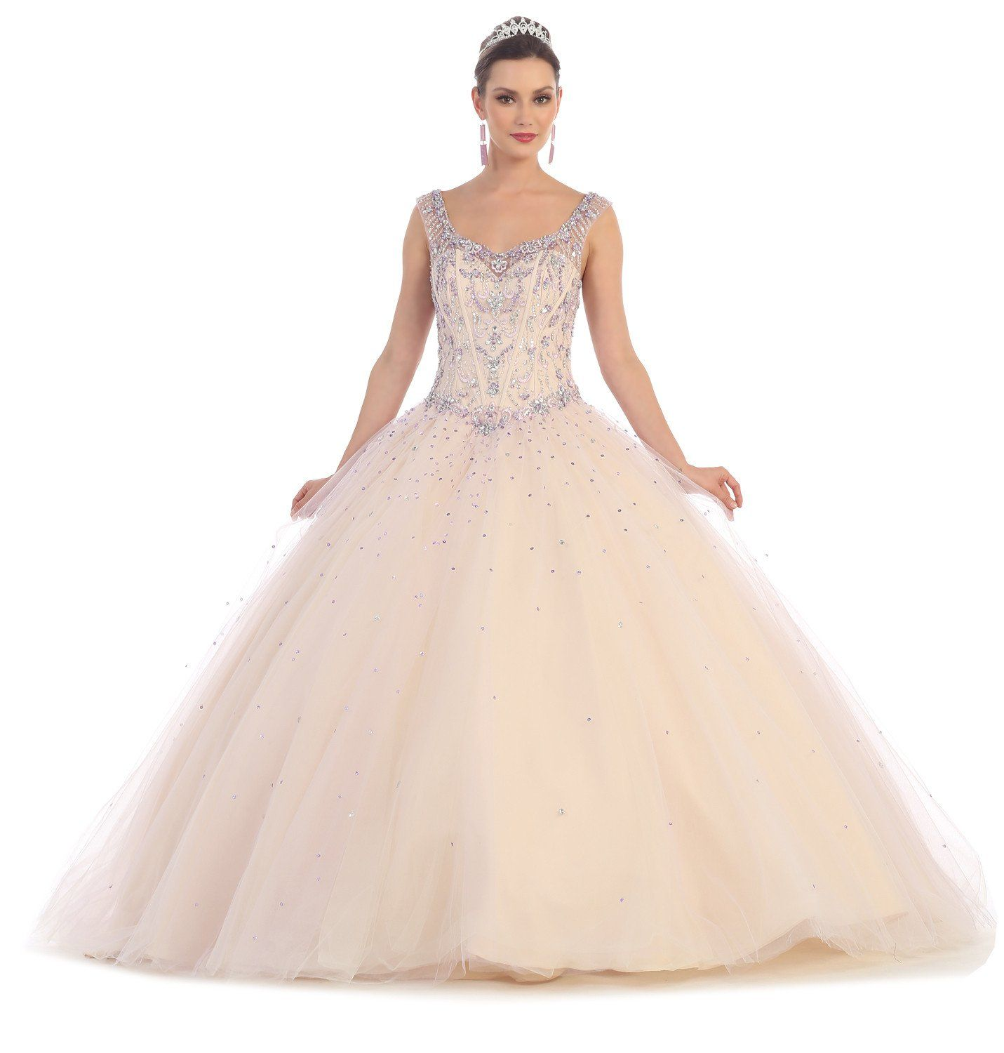 Quinceanera quinceanera sweet ball gown prom long dress in