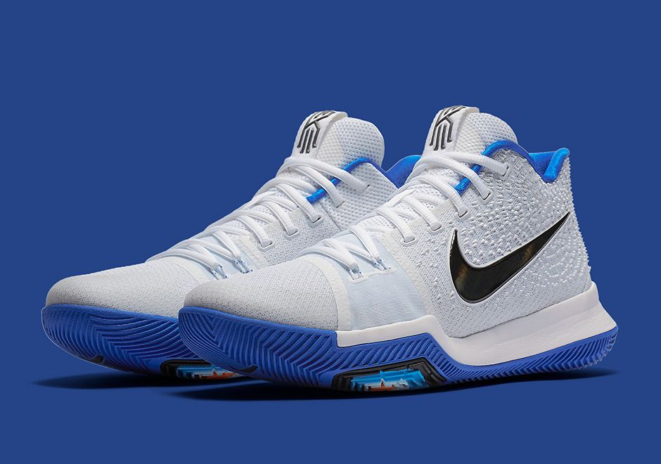 Nike Kyrie Irvings Wholesale Cheap Nike Kyrie 3 White Orange Blue Black Shoes IX3D497F