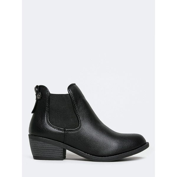 CHELSEA BOOTIE ($32) ❤ liked on Polyvore