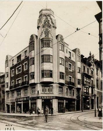 CASA DE CHILE  Calle Argüelles esquina Mendizabal  Enrique Rodriguez Bustelo  1930             Este edificio conun estilo influenciado po...