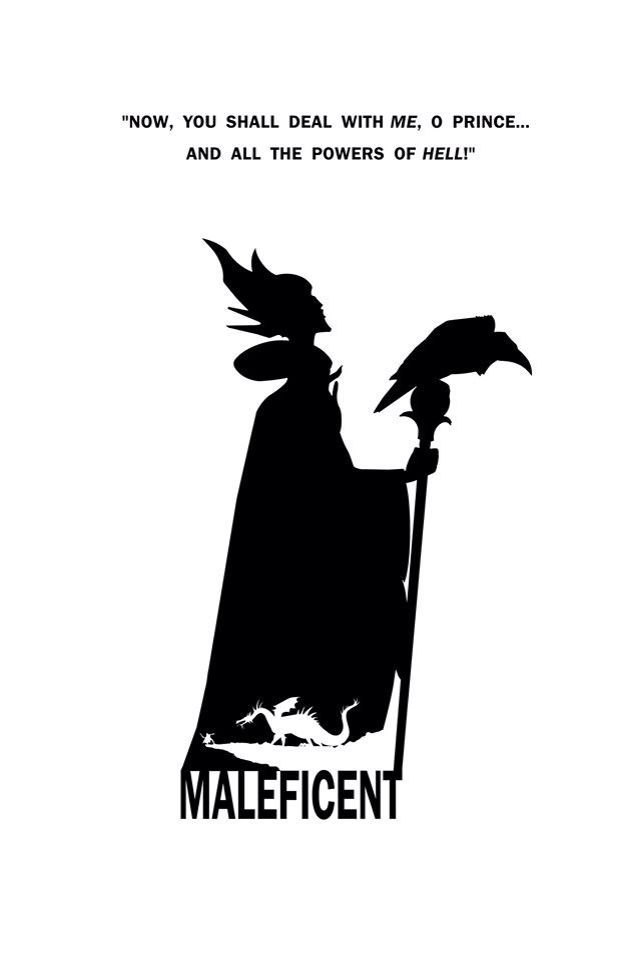 Maleficent Silhouette Google Search Maleficent