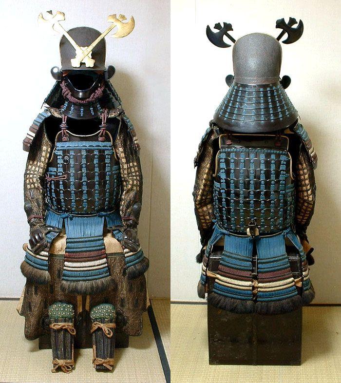 Akutagawa Clan Matched Gusoku. Momoyama Period. Circa 1573