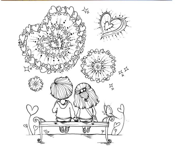 Amor-secrect-coloring-book-para-crecido-libros-para-colorear-para ...
