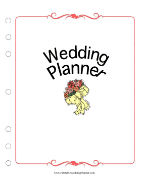 This wedding planner cover page puts a pretty face on your wedding this wedding planner cover page puts a pretty face on your wedding plans free to download and print junglespirit Image collections