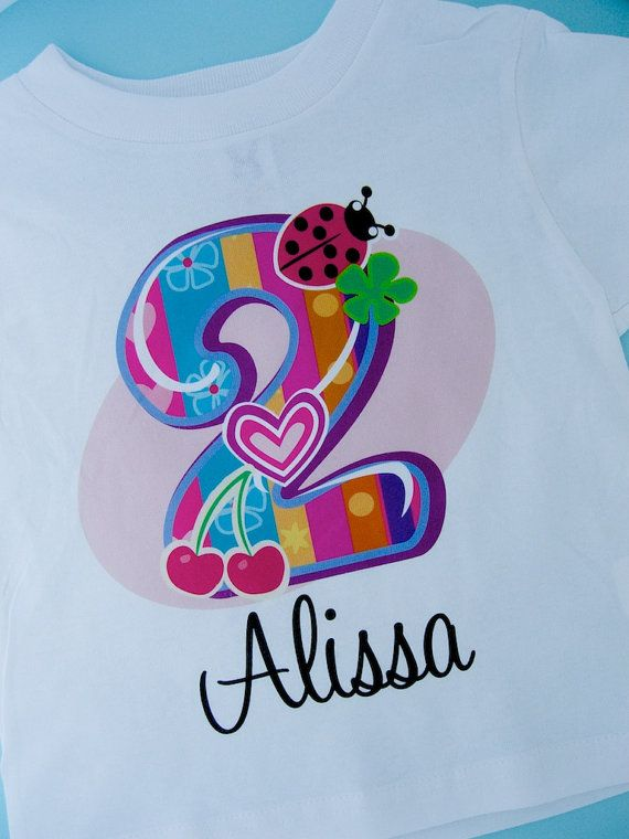 Second Birthday Shirt Fancy Number 2nd By ThingsVerySpecial 1499