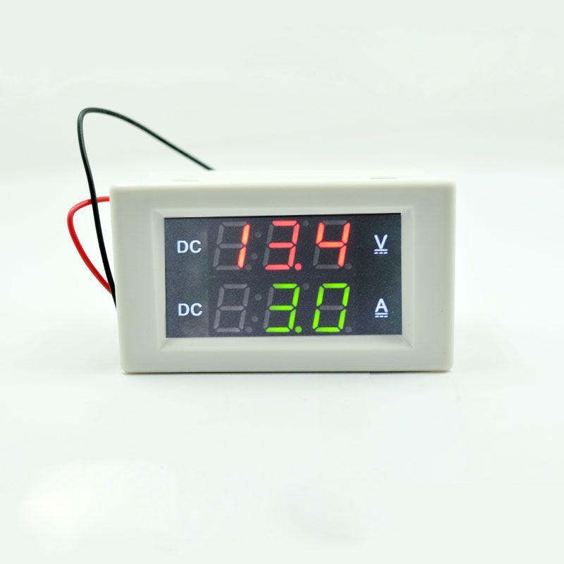 Dc 300v 50a Digital Voltmeter Ammeter Dc Volt Amp Tester Gauge With Red And Green Led No Shunt With Back Cover 0 39 Led Affiliate Green Led Volt Ampere Led