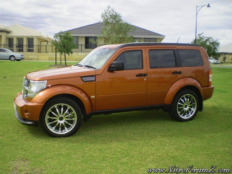 Dodge Nitro Sunburst Orange Pearl Hot Rods Cars Muscle Dodge Nitro Dodge