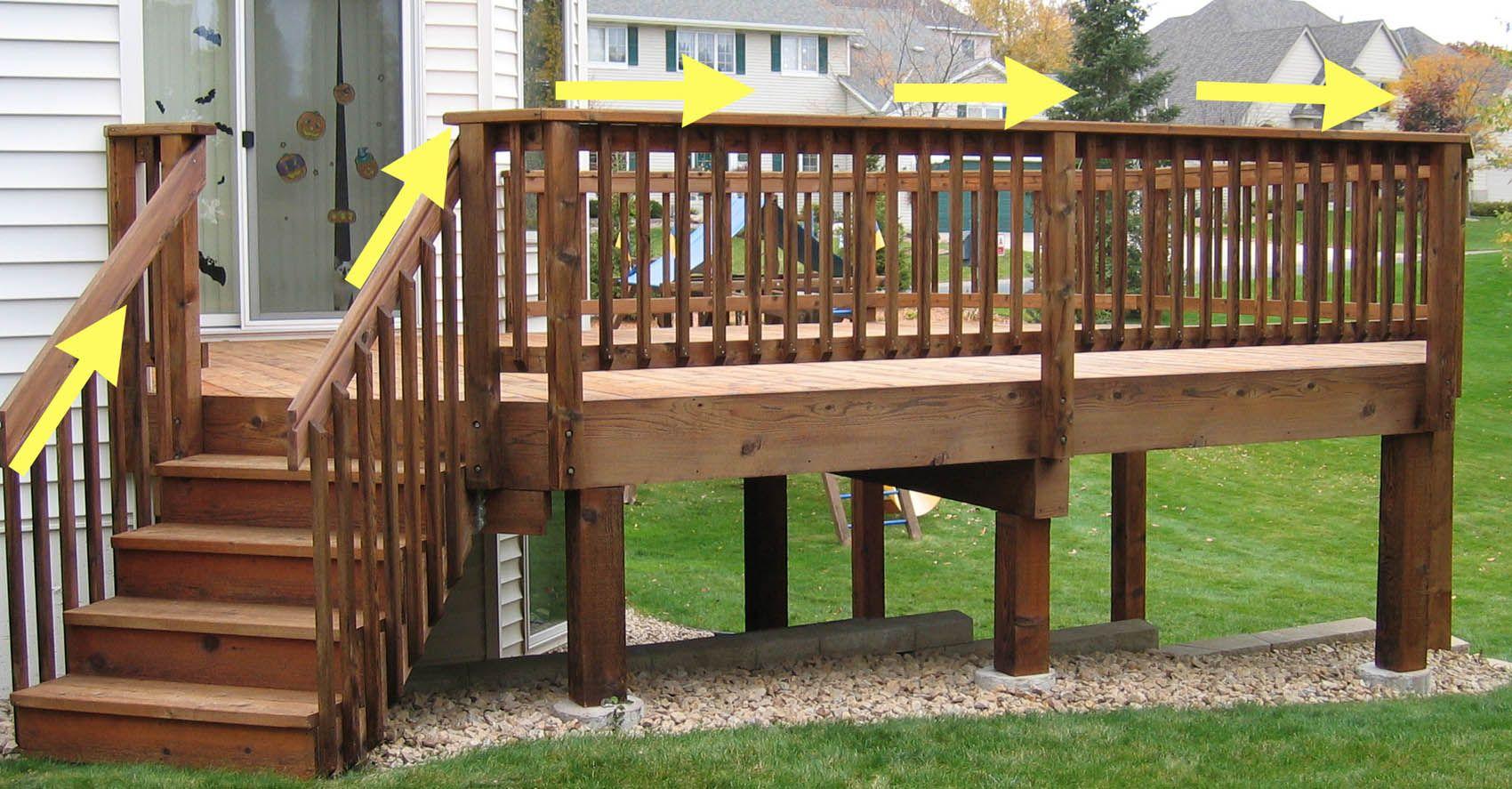 17 best images about deck railing ideas on pinterest wooden decks wood doors and wood railing