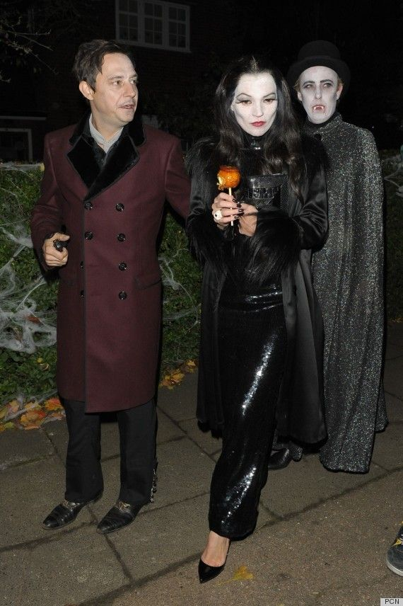 kate moss addams family halloween costume.