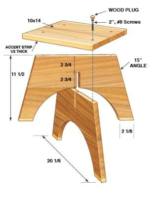 How to Make a Footstool - Furniture Projects | Fresh Home