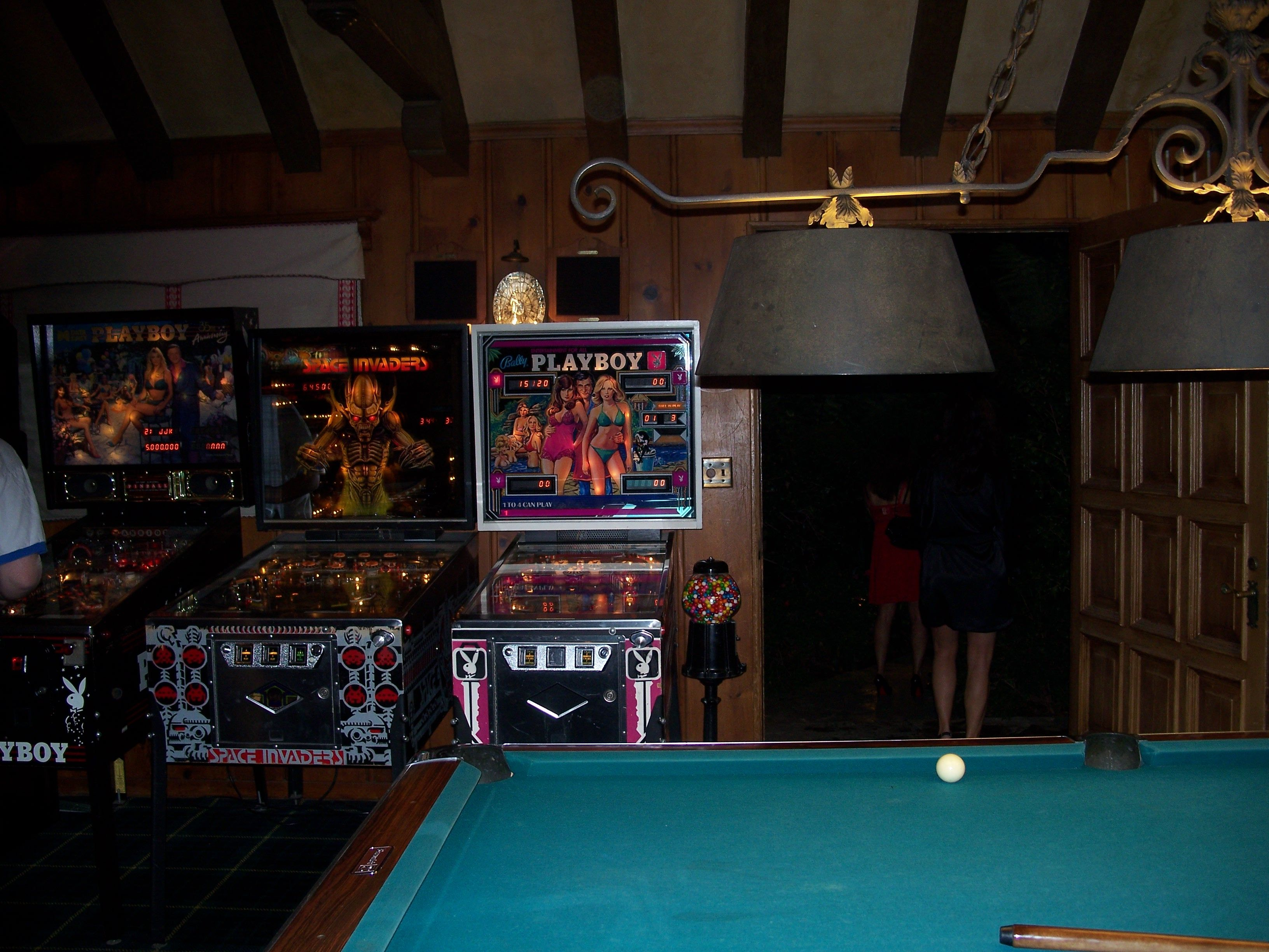 Playboy Mansion Game Room
