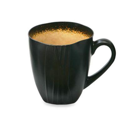 Baum Galaxy 21 Ounce Jumbo Latte Mugs In Amber Set Of 6