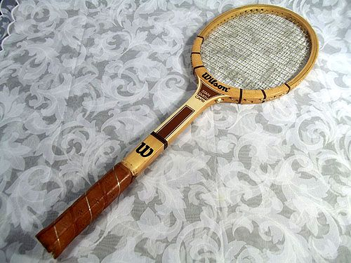 factory price eccae eca56 Sold Vintage Wilson Stan Smith Capri Wood Racket. | Sports ...