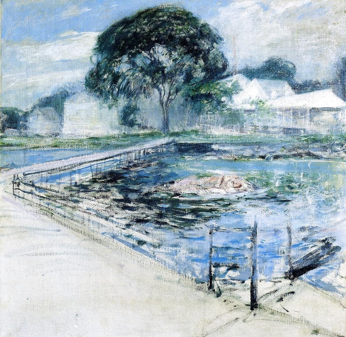 John Henry Twachtman - Harbor View Hotel 1902