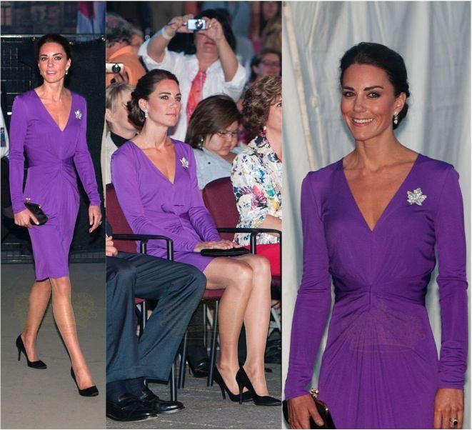 Kate Purple Issa Dress