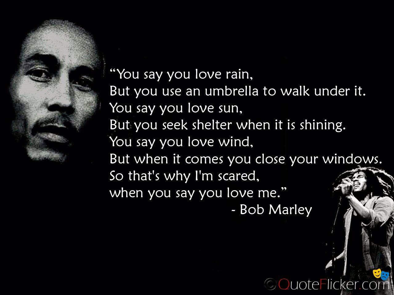 Famous Quotes About Life Lessons Bob Marley On Of The Greatest Quotes  Life Lessons Not Exactly