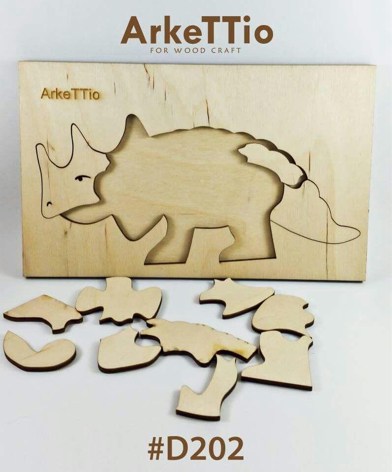 2d Wooden Puzzle Arkettio Wooden Puzzles Wood Crafts Puzzle