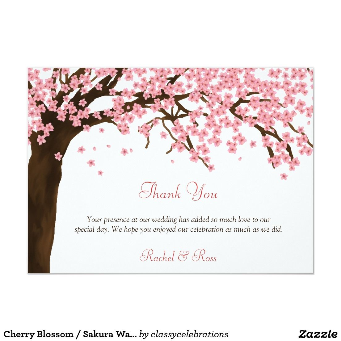 cherry blossom sakura watercolor thank you in 2018 spring