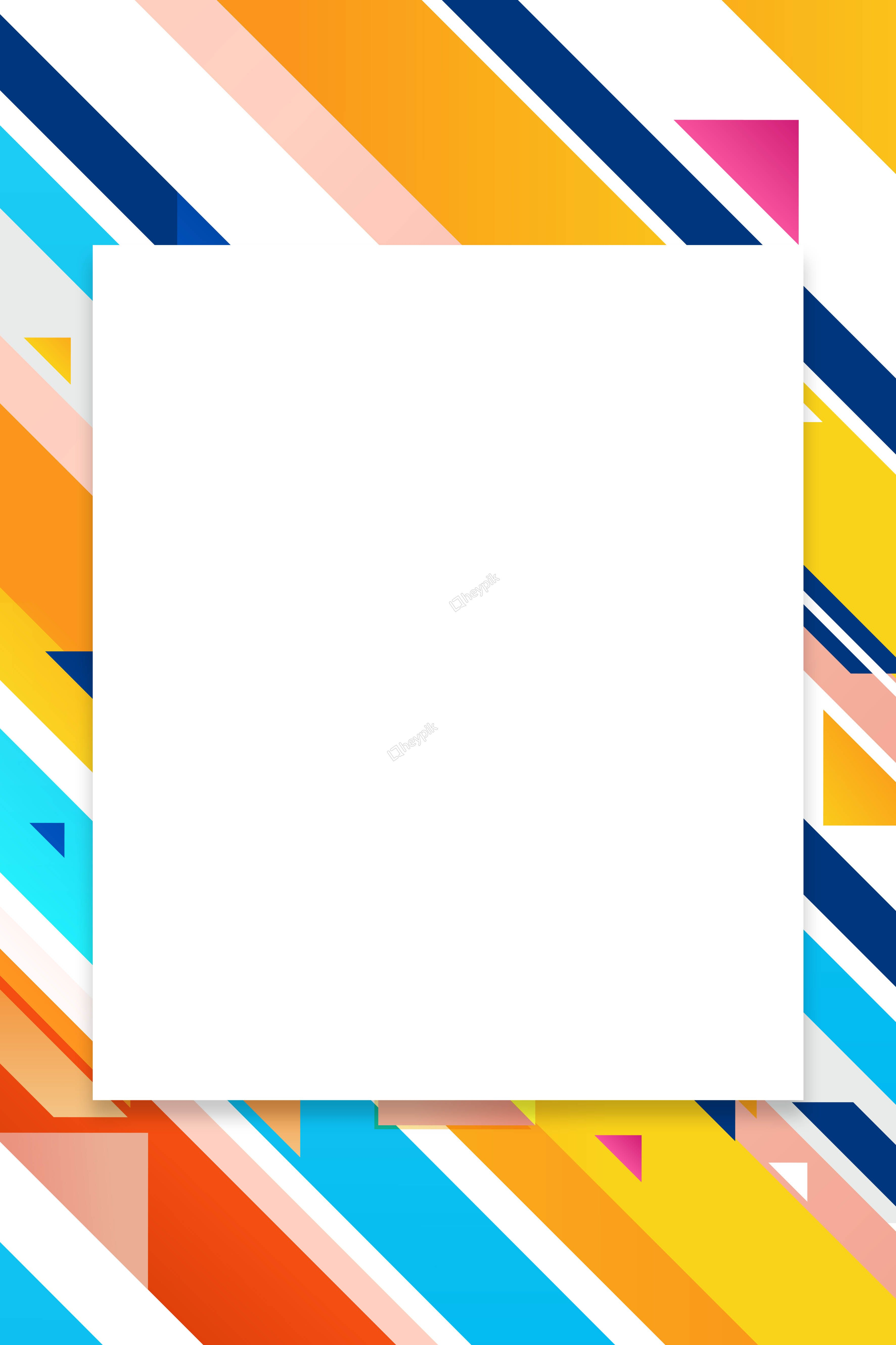 Colorful Lines Abstract Kanban Background Theme Background