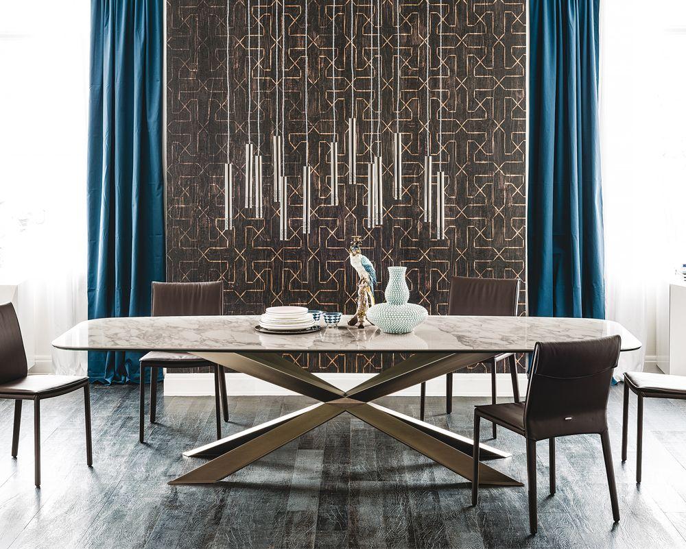 Room Spyder Keramik Dining Table