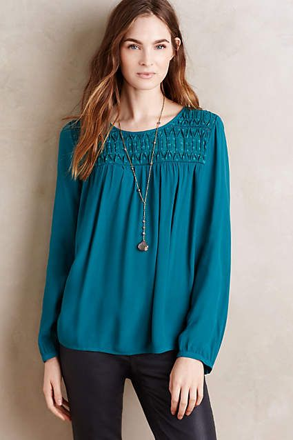Vivie Blouse - anthropologie.com