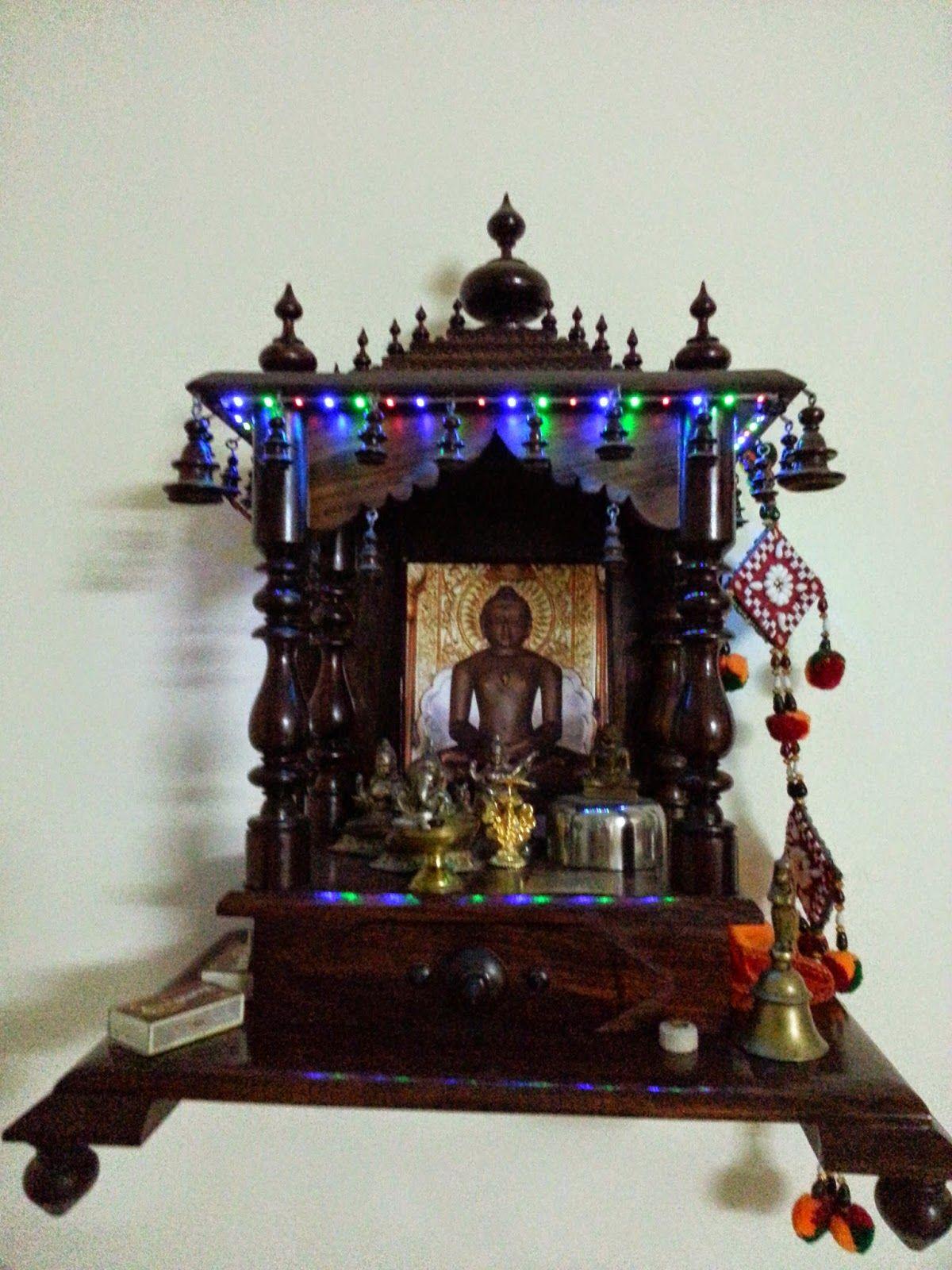 Amit Jain Blog Decorate Your Home Mandir With Flickering
