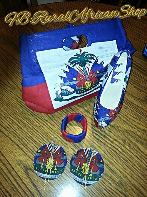Haitian Clutch And Shoes Haiti History Haitian Flag Haitian