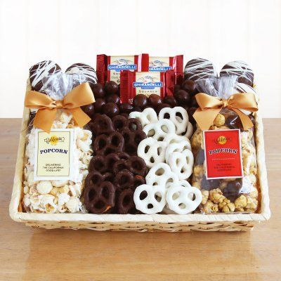 Crunch Time Sweet Snacks Gift Basket - 5685, GNS1148
