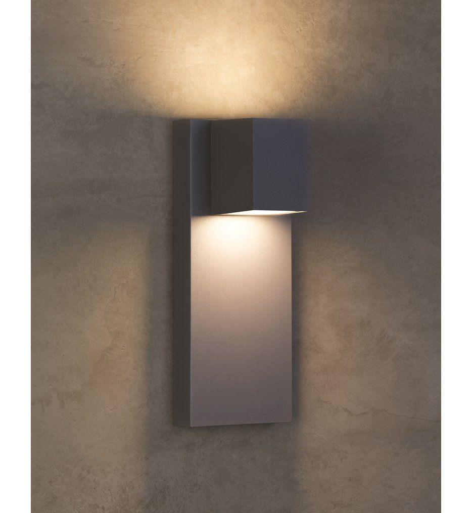 Tech Lighting 700wsqdrz Ledwd Quadrate Bronze Outdoor Wall Sconce In 2020 Sconces Wall Sconces Outdoor Wall Sconce