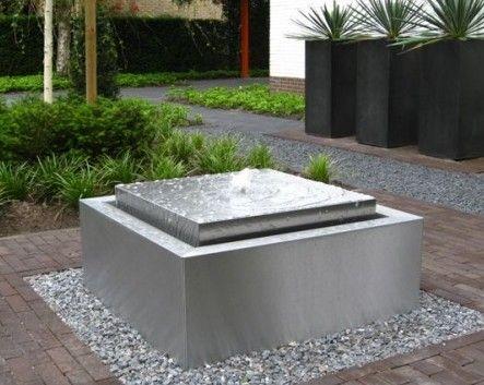 Altijd Mooi Kabbelend Water Modern Outdoor Fountains 400 x 300